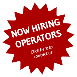 Now hiring operators